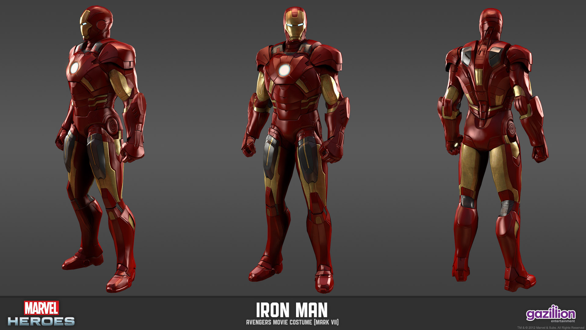 New Screen And Character Models For Marvel Heroes Comic