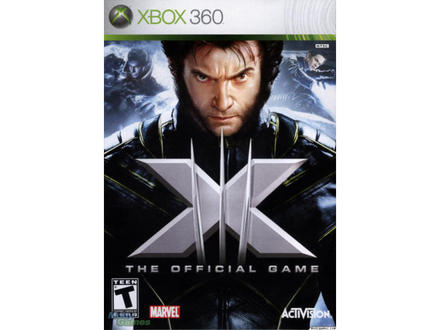 xmen the official game cover