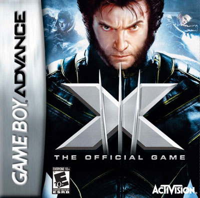 xmen the official game gba coverart
