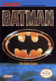 batman nes cover art