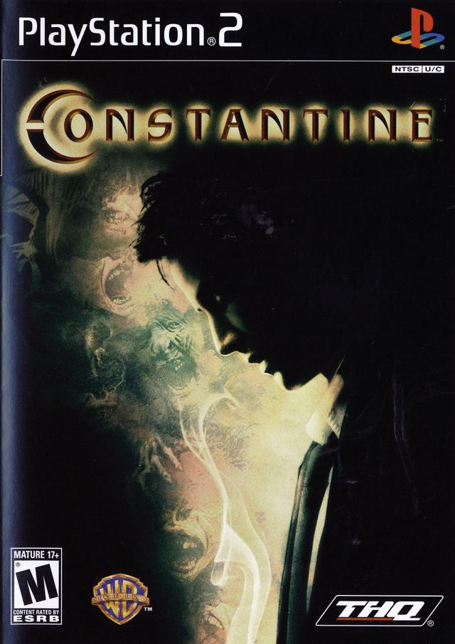 constantine ps2 cover