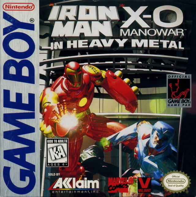 heavy metal game boy