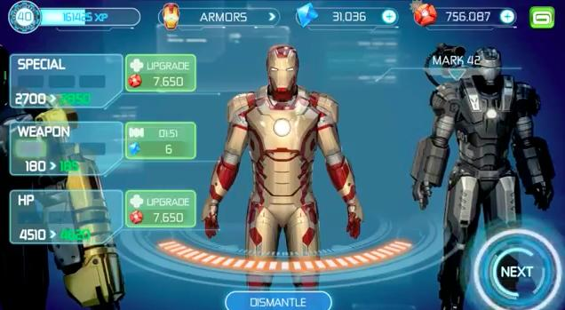 Iron Man 3 mobile armory