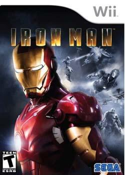 iron man wii box art