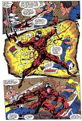 Maximum Carnage comic panel