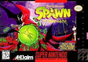 spawn snes cover