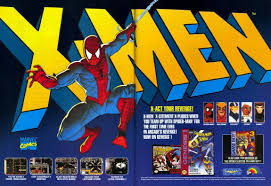 spiderman and the xmen ad