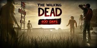 the walking dead 400 days title art