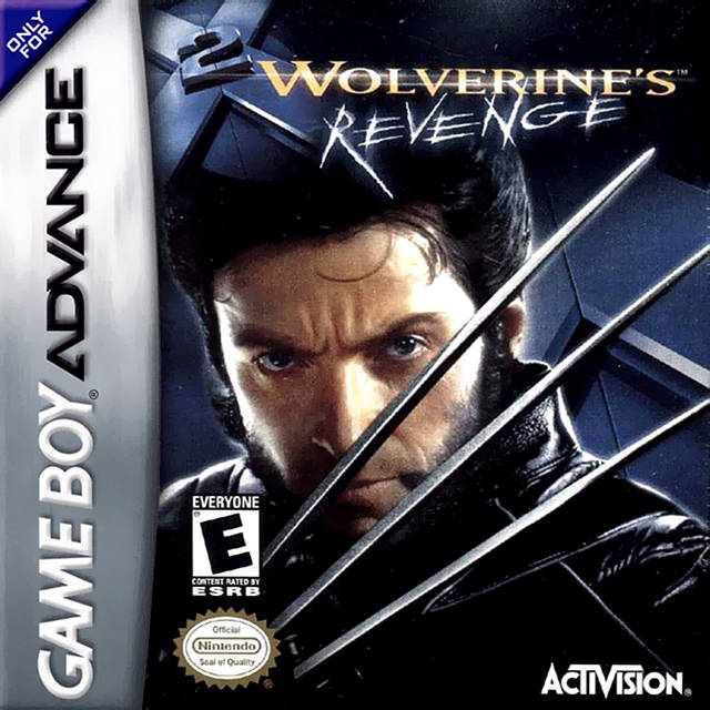 x2 wolverines revenge gba cover
