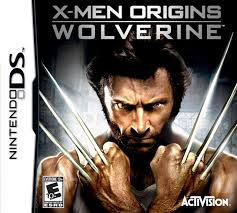 xmen origins ds cover art