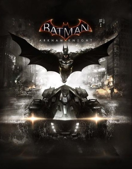 batman arkham knight cover art
