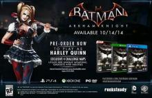 batman arkham knight harley quinn playable