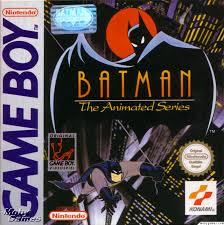 batman the animated series game boy cover