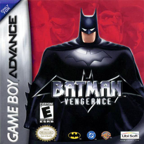 batman vengeance game boy advance cover