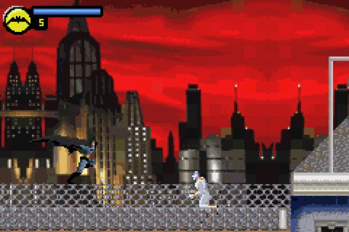 batman vengeance gba screen shot