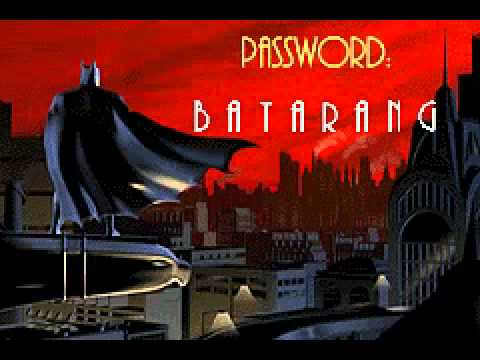 batman vengeance password