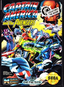 captain america and the avengers sega genesis