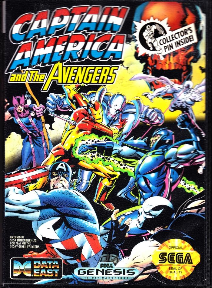captain america and the avengers sega genesis