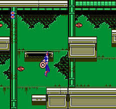 captain america nes hanging