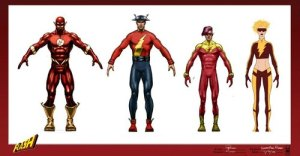 flash concept art
