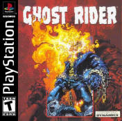 ghost rider psone cover