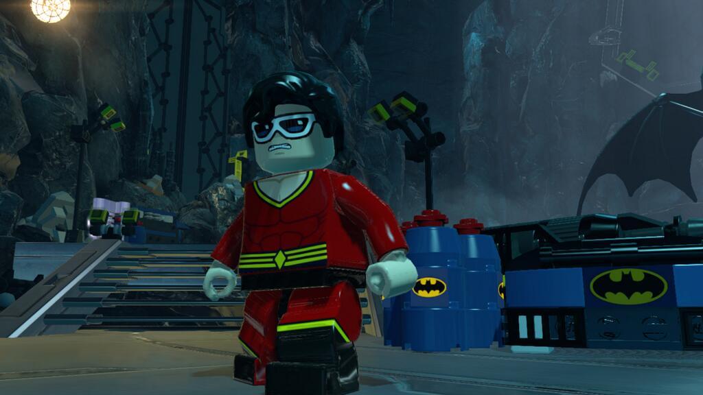 Free Plastic Man Minifig With Lego Batman 3 Beyond Gotham