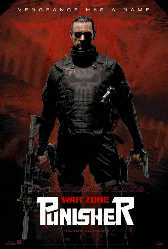 punisher war zone cover