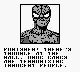the punisher game boy spiderman