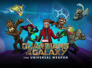 the universal weapoin title card