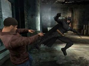 batman begins fighting