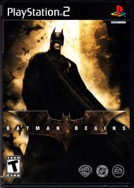 batman begins ps2 cover