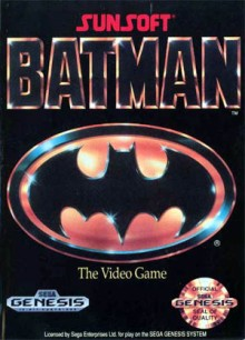 batman sega genesis cover