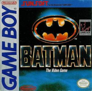 batman game boy cover