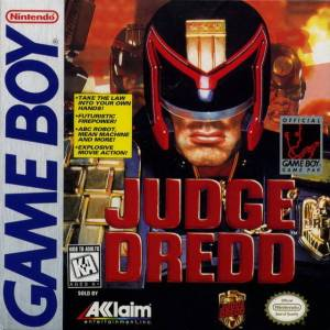 judge dredd game boy cover