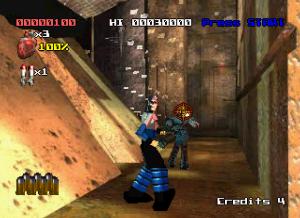 judge dredd ps1 screen shot