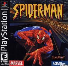 spiderman psone