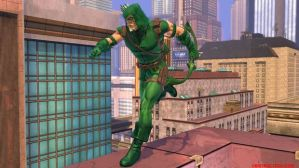 green arrow dcuo