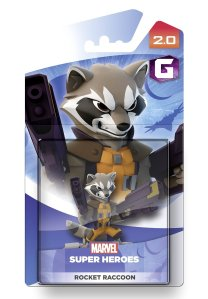 rocket raccoon figure
