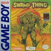swamp thing game boy cover