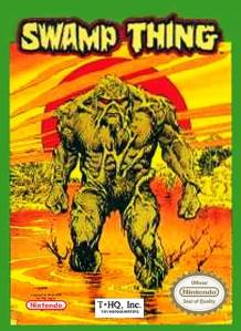 Swamp Thing nes cover