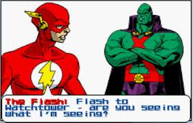 the flash terrible cut scene