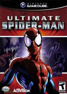 ultimate spiderman gc cover
