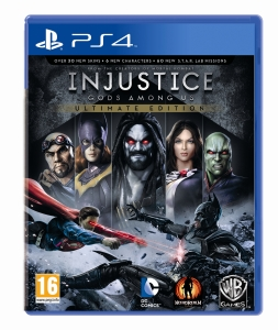 injustice ps4 cover