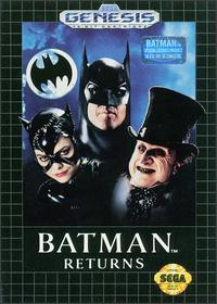 batman returns sega genesis cover