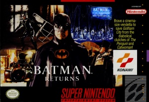 batman returns snes cover