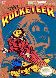 the rocketeer nes cover