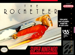 the rocketeer snes cover