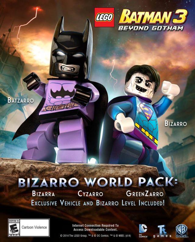 Review Lego Batman 3 Beyond Gotham Bizarro World Dlc Ps4