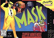 the mask snes cover