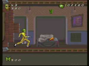 the mask snes sneaking